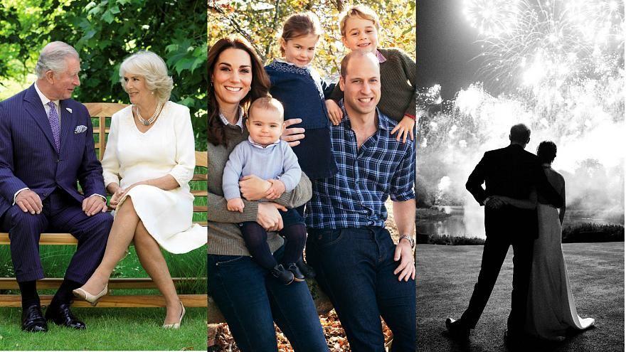 Royal Family 2018 Christmas Cards Revealed Dress Like A Duchess