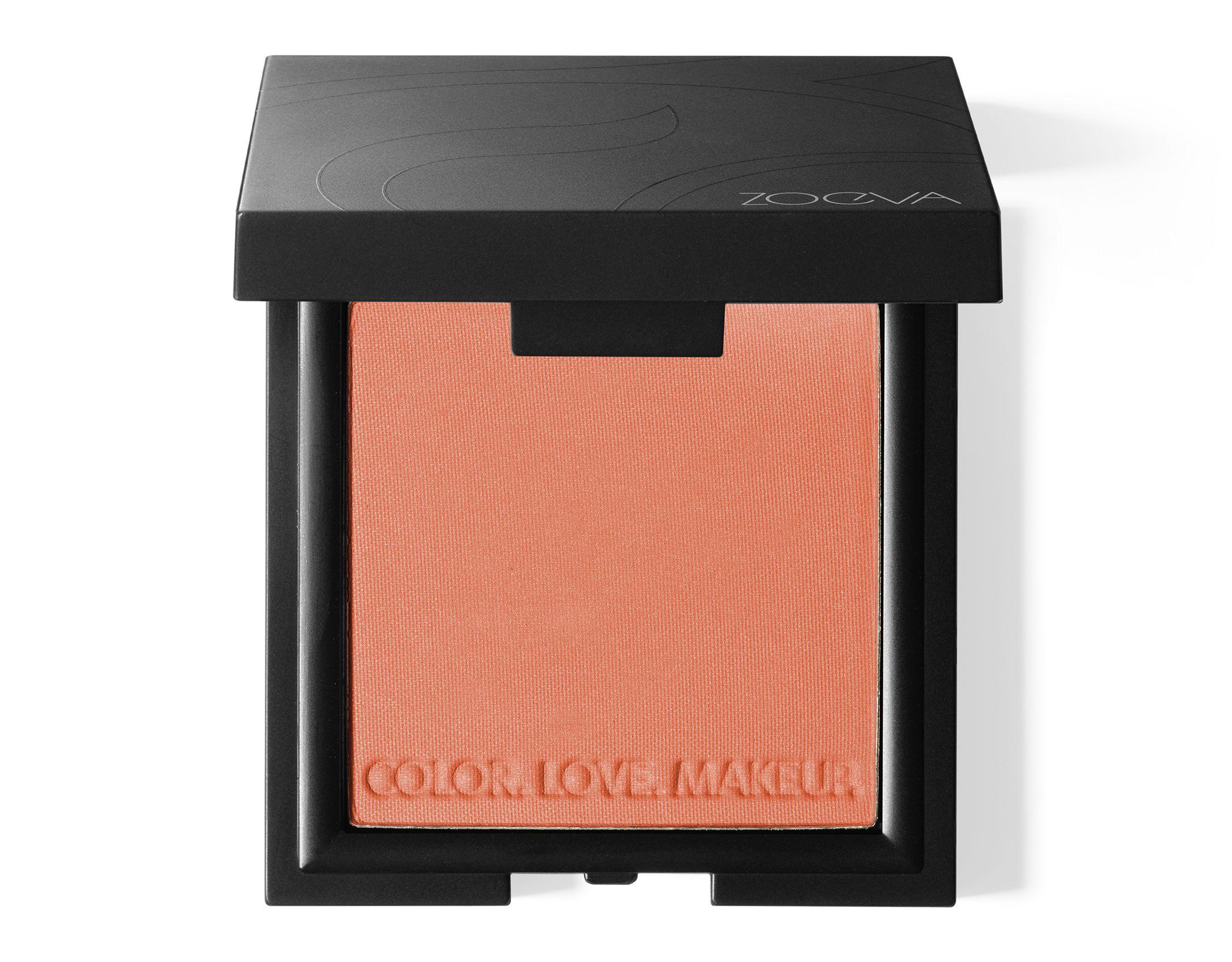 ZOEVA Luxe Color Blush Last Love // Peach color with a subtle golden shimmer // https://www.zoeva-shop.de/en/face/cheek/luxe-color-blush/luxe-color-blush-last-love/a-8000350/