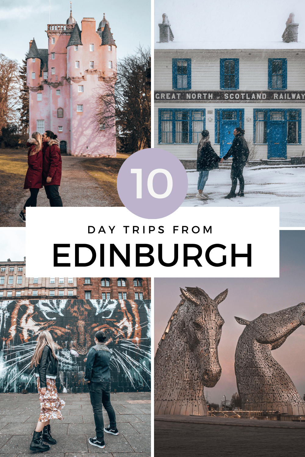 10 Day Trips from Edinburgh in Scotland. - On The