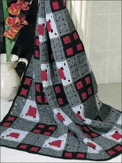 Crochet square afgan free pattern | Crafts & Crazy Stuff | Pinterest ...