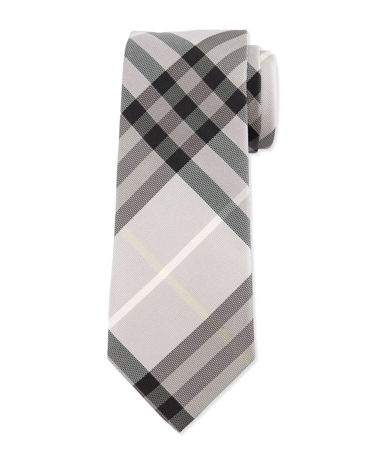 b3e8d56a5466 Check Silk Tie Dusty Pink | *Clothing Accessories > Neckties* | Silk ...