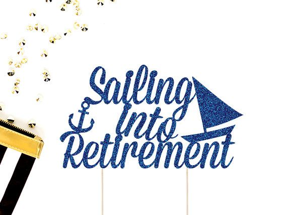 10 Sets Glitter Nautical Boat Anchor Rudder Cake Topper Wedding Party Decor
