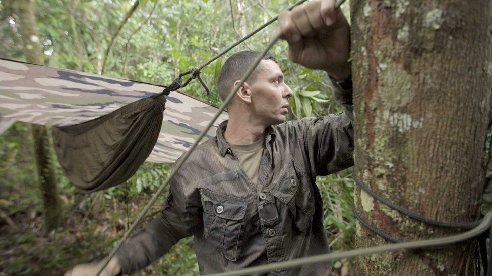The soldiers who protect a rainforest French foreign