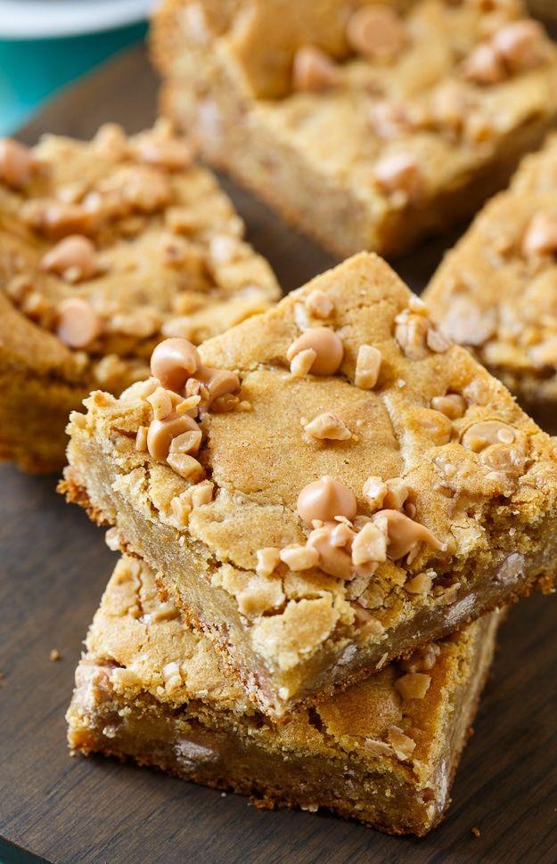 Photo of 🥇 ▷ Butterscotch Toffee Blondies » Einfaches und gesundes Rezept!