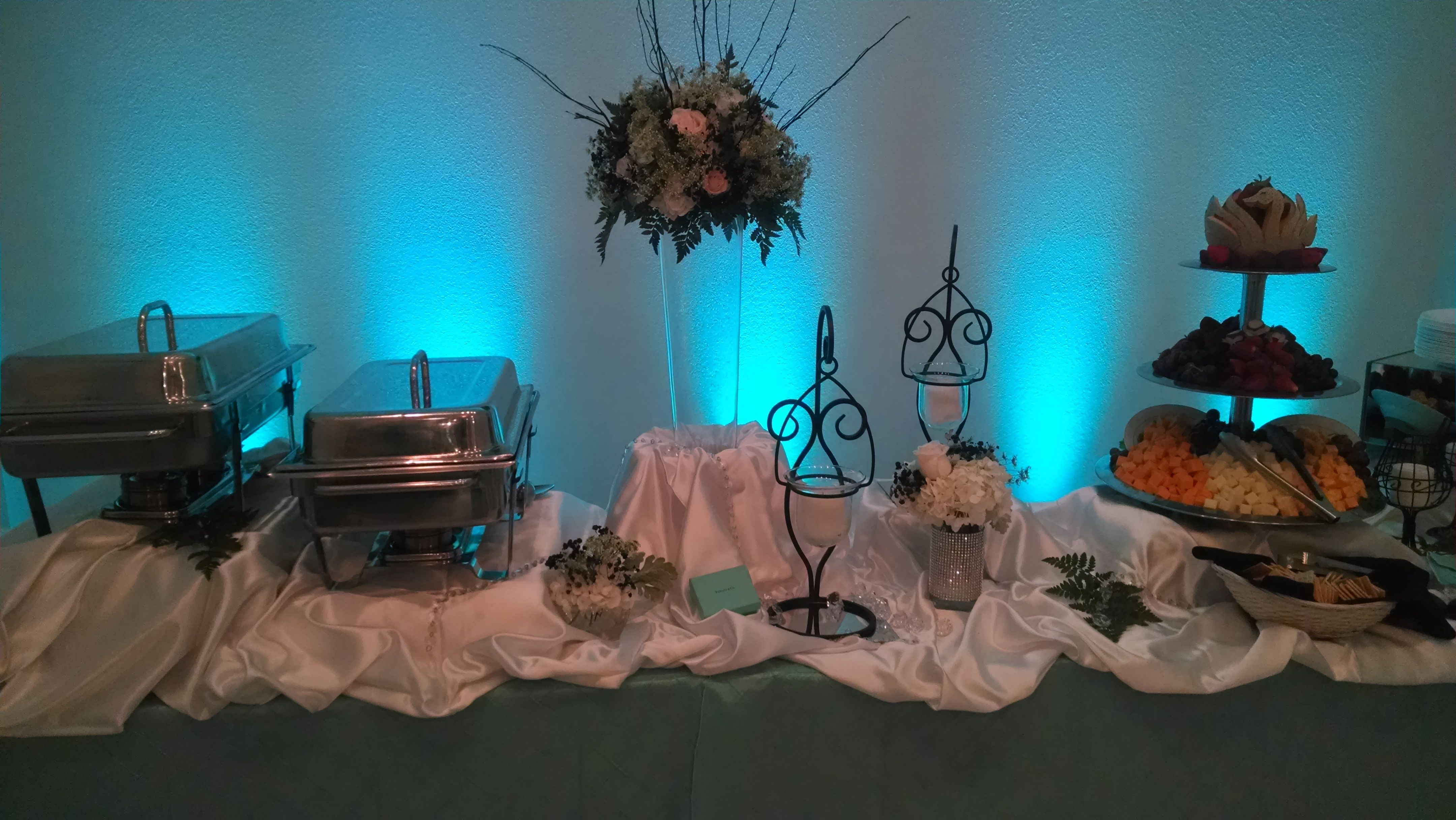 Blue tasting by Affordable Catering