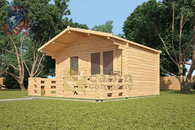 House · This Little Log Cabin By Little Cabin Company Gives A ...