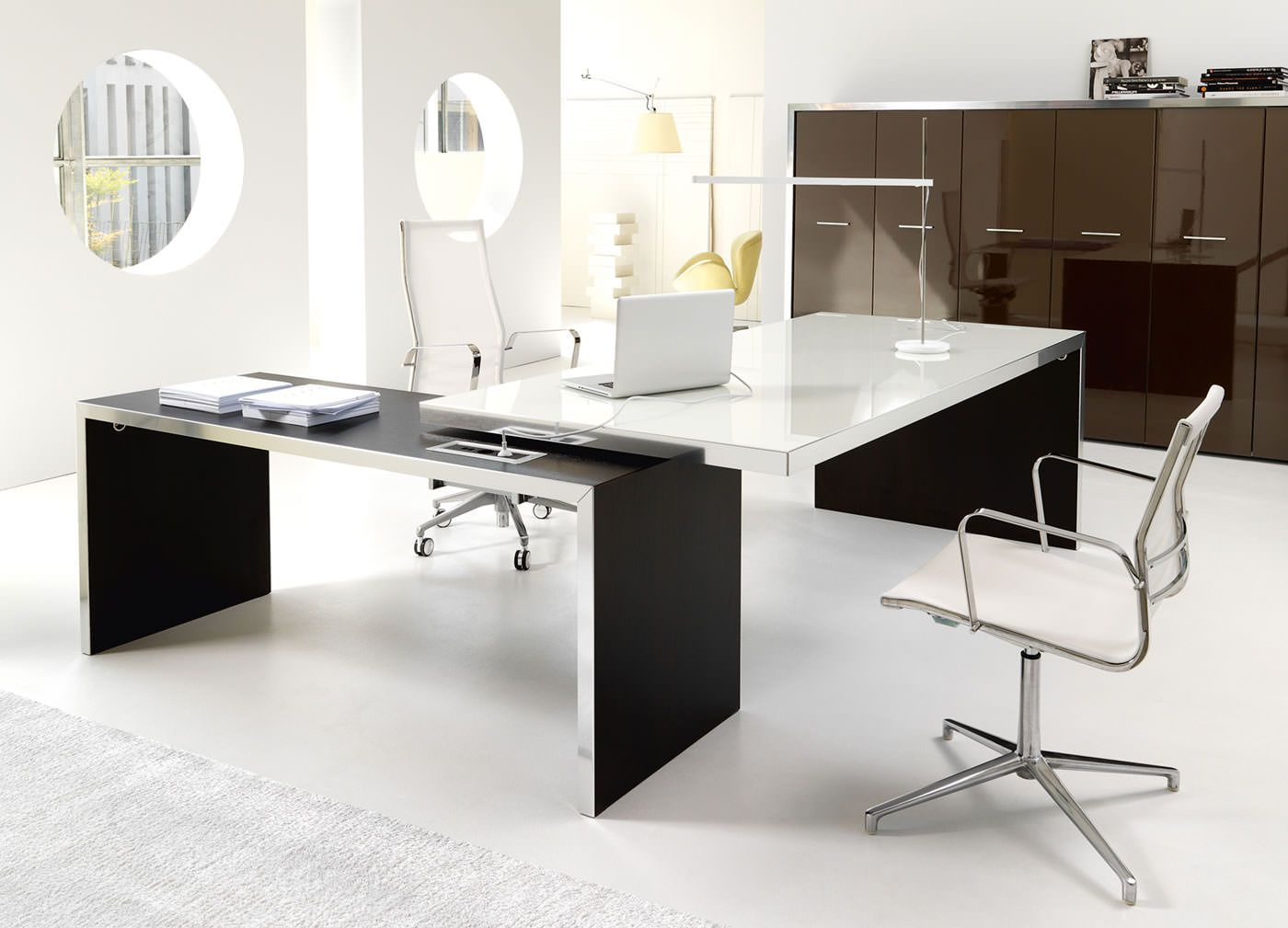Estel Mobili ~ Modern design desk loop by estel office office