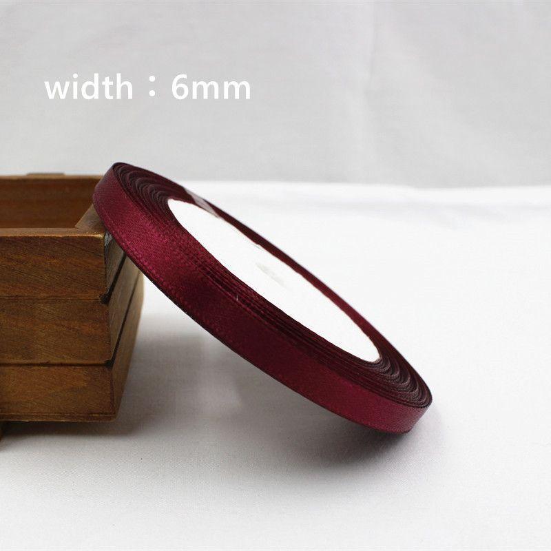 25 Yards Silk Satin Ribbon , Wedding decorative ribbons, gift wrap, DIY handmade materials