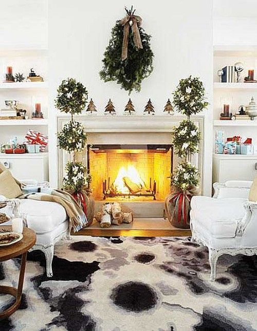 Simply gorgeous Holiday decor<3
