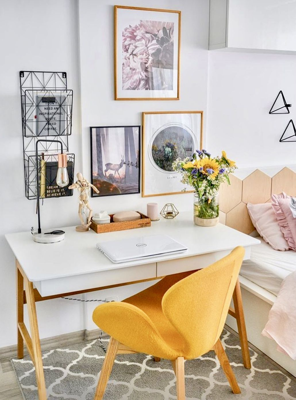 Study Room Color Ideas: Study Or Work Space Inspo