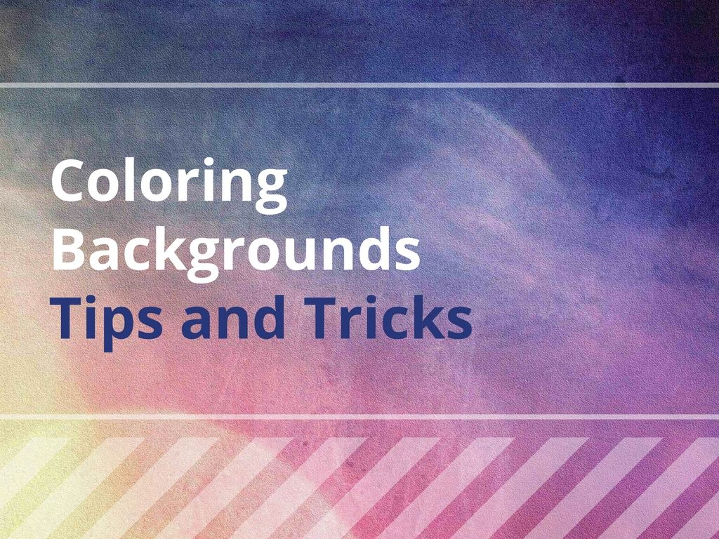 Coloring Backgrounds Tips And Tricks For Coloring Books That Also Work For Fine Art