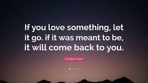 Image Result For If U Love Something Let It Go Quotes Let It Go