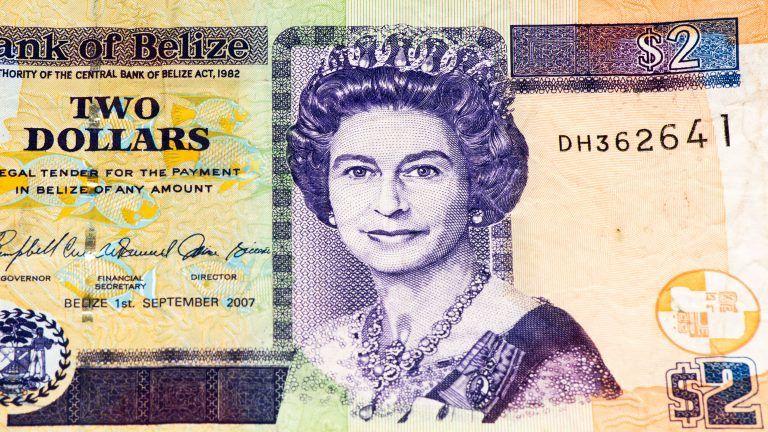 El Dólar Beliceño La Moneda Oficial De Belice Billetes Belice Desierto De Los Leones