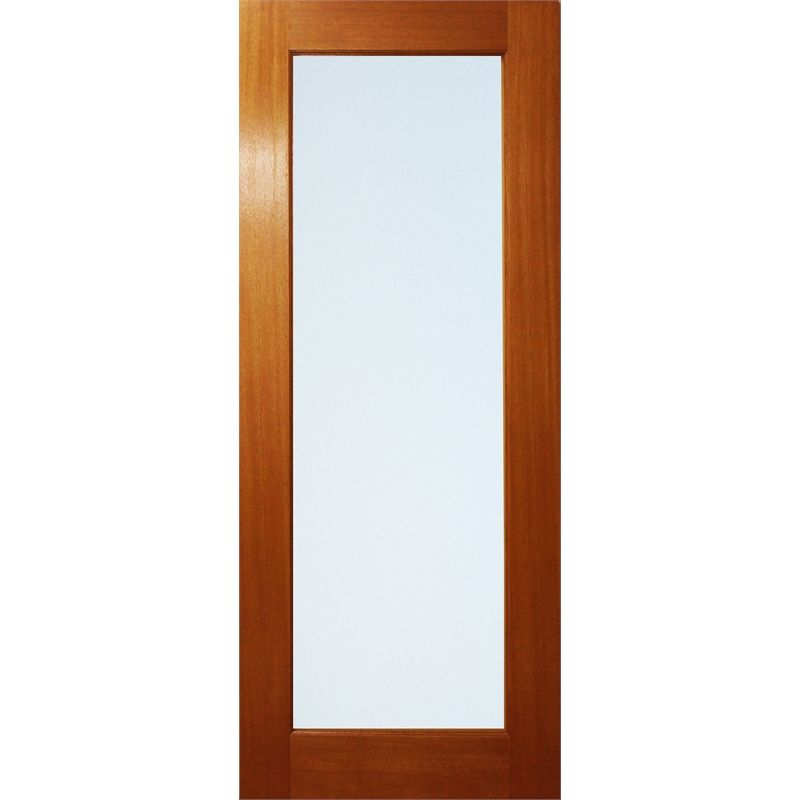 Find Woodcraft Doors 2040 X 820 X 35mm One Lite Frosted Laminated Glass  Internal Door At
