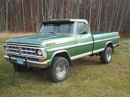 Original Classic Ford Truck Photos 1971 Ford F 250 Classic Ford Trucks Ford Trucks Classic Trucks