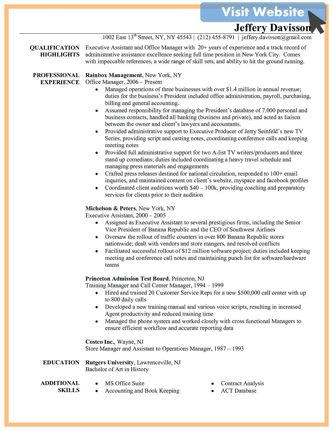 Medical Office Manager Resume Template In 2020 Office Manager Resume Job Resume Examples Resume Examples