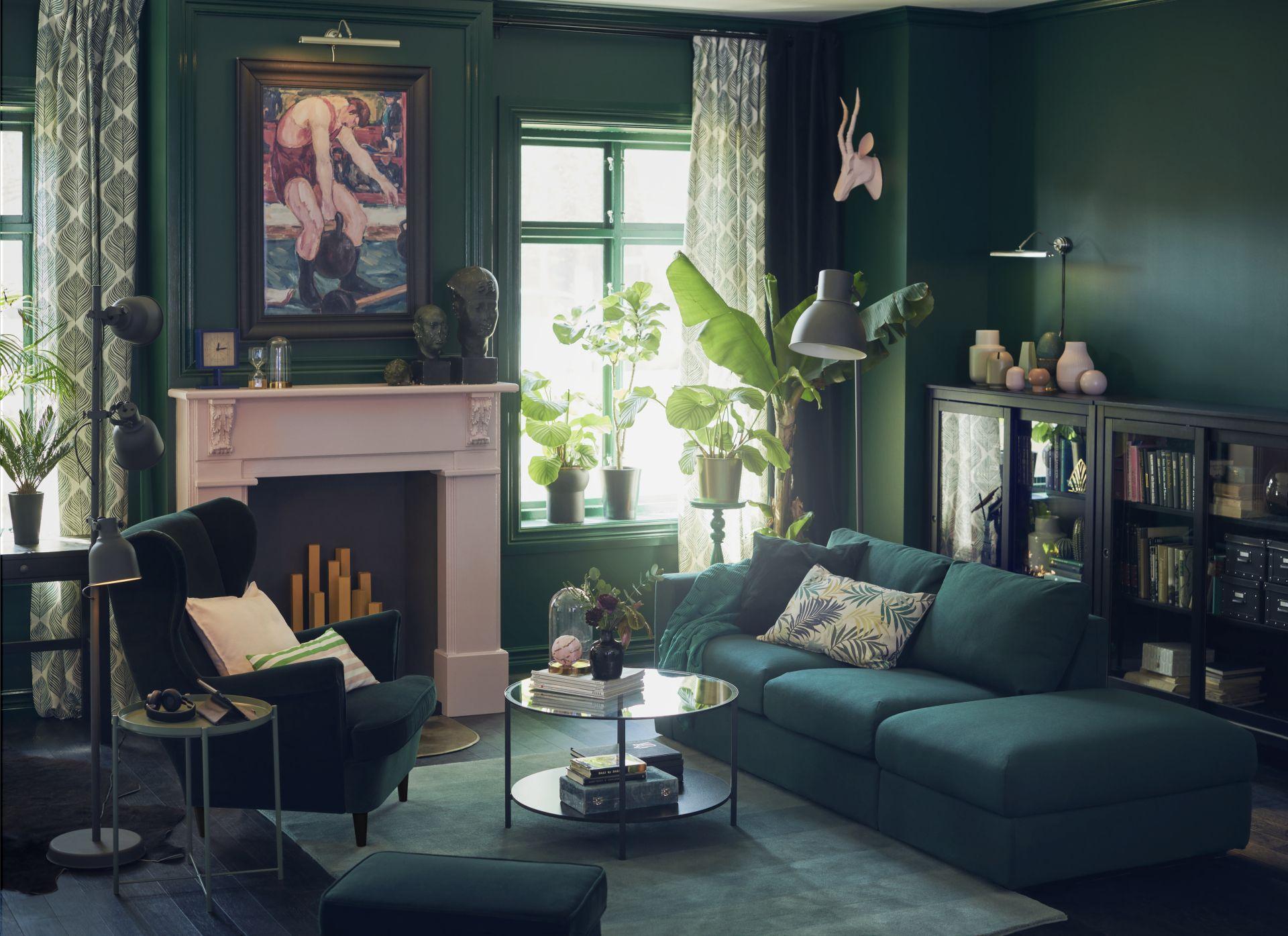 Poltrona Kivik Ikea.Kivik Sofa De Canto 4 Lugares Hillared Bege In 2019 A