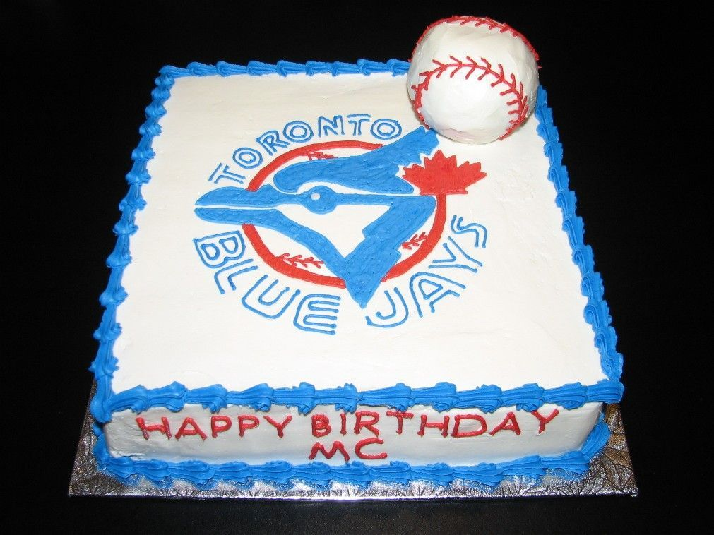 toronto blue jays birthday cakes Bing Images Food Pinterest