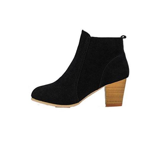 sale retailer bc206 52742 Herbst Winter Damen Stiefeletten Stiefel Covermason Hoher ...