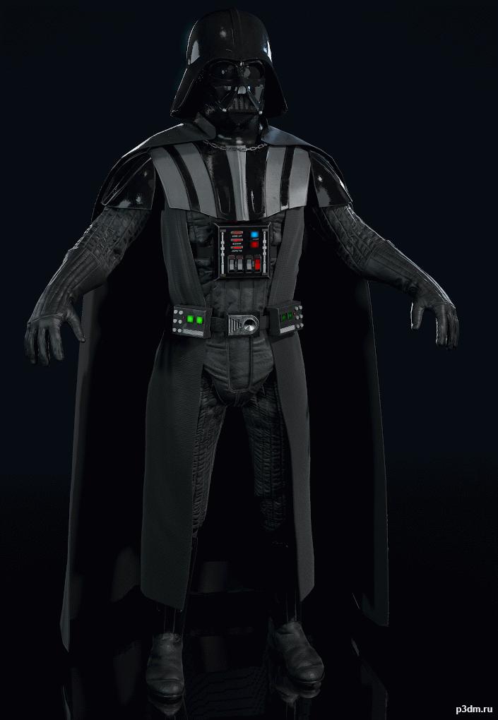 Star Wars Battlefront Ii Darth Vader Pack 3d Models Darth Vader Star Wars Battlefront Star Wars Masks