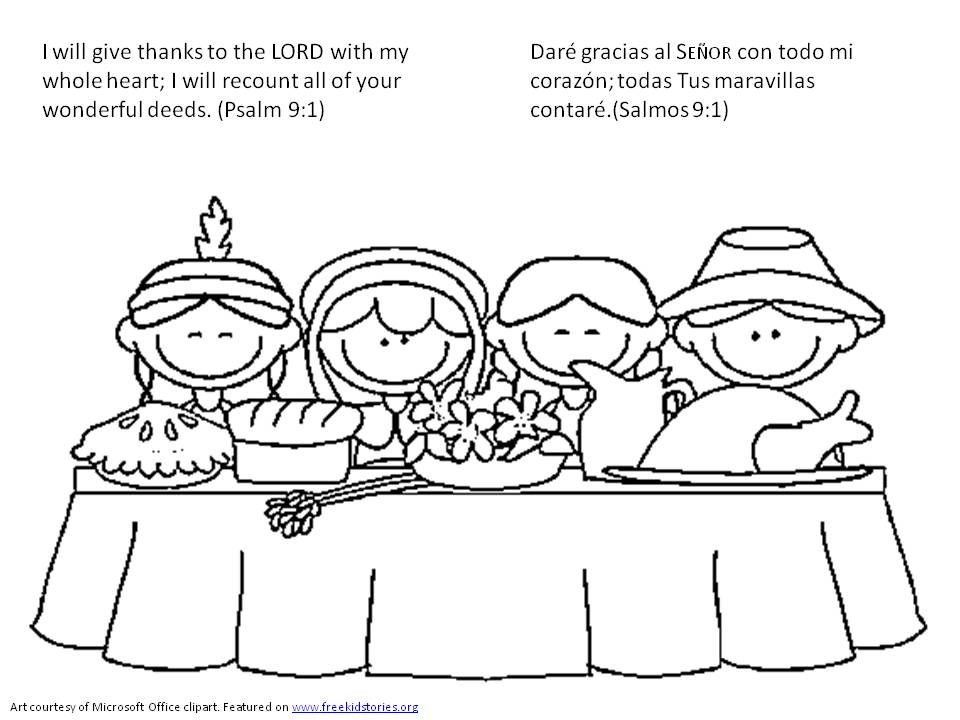 Dia De Accion De Gracias Versiculos De La Biblia Para Pintar