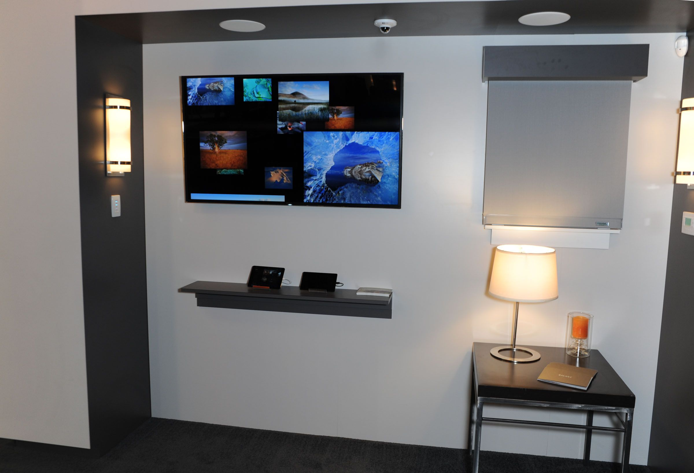 Live demo station at CEDIA - where integrators could see the new Savant App firsthand!