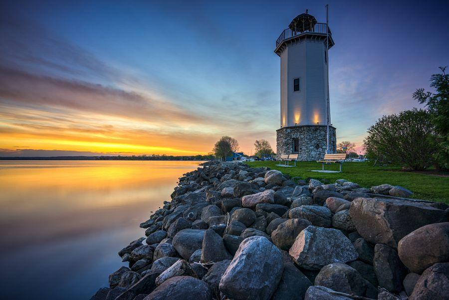 Lakeside Park Lighthouse Fond Du Lac Wi By Neal Grosskopf Photo 153142417 500px Lakeside Park Lighthouse Lakeside