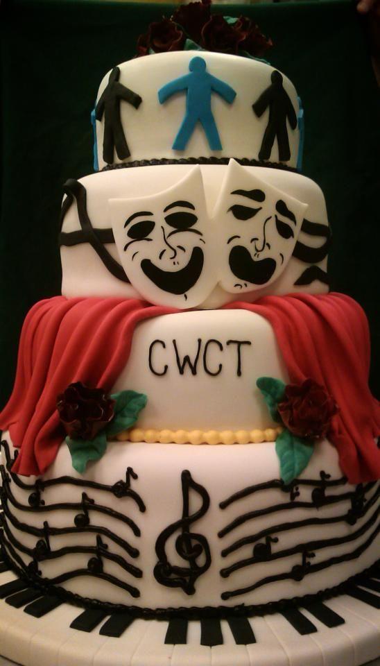 Children S Theater Cake Theater Cake Drama Cake Custom