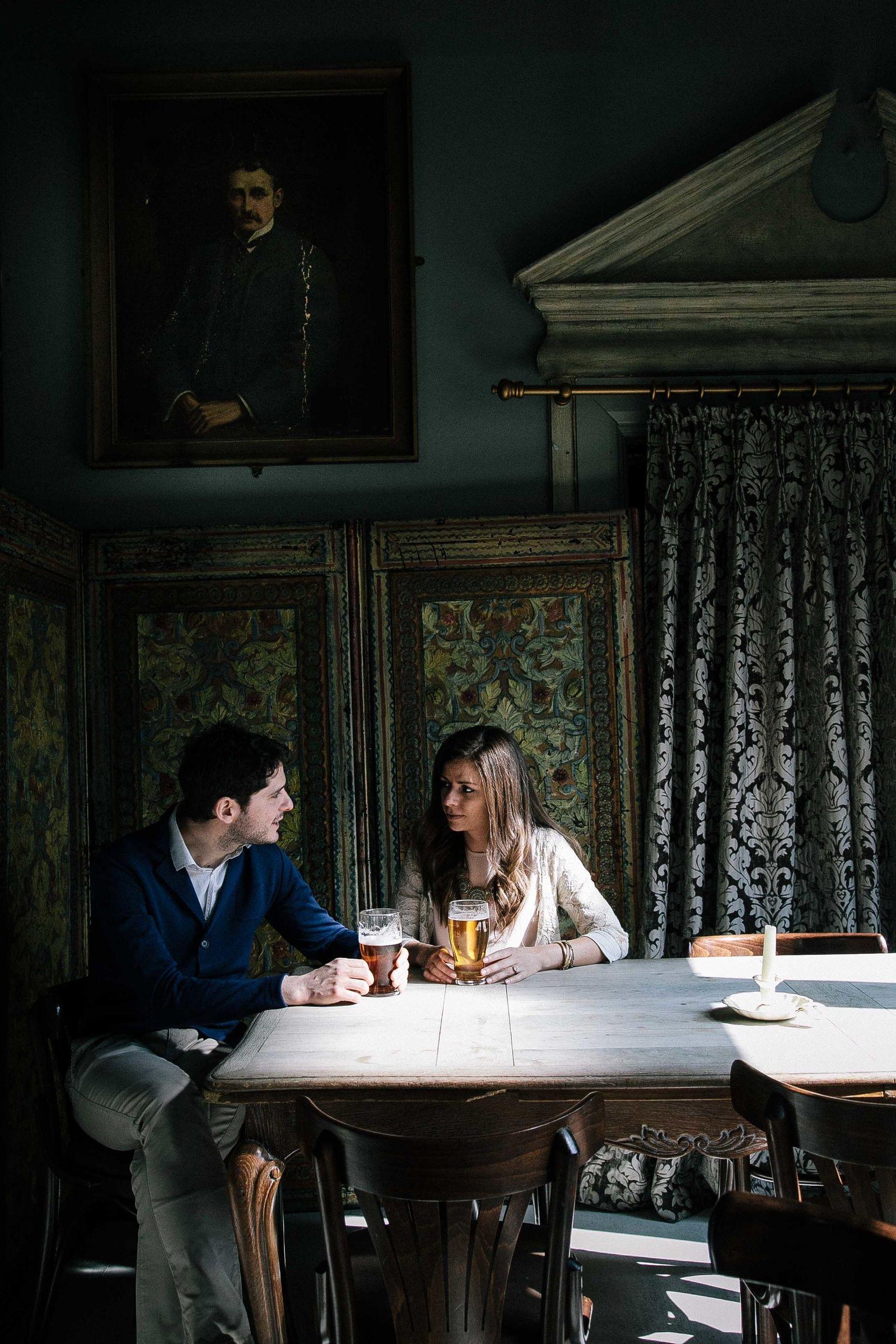 Regent's Park engagement session | Bianco Photography