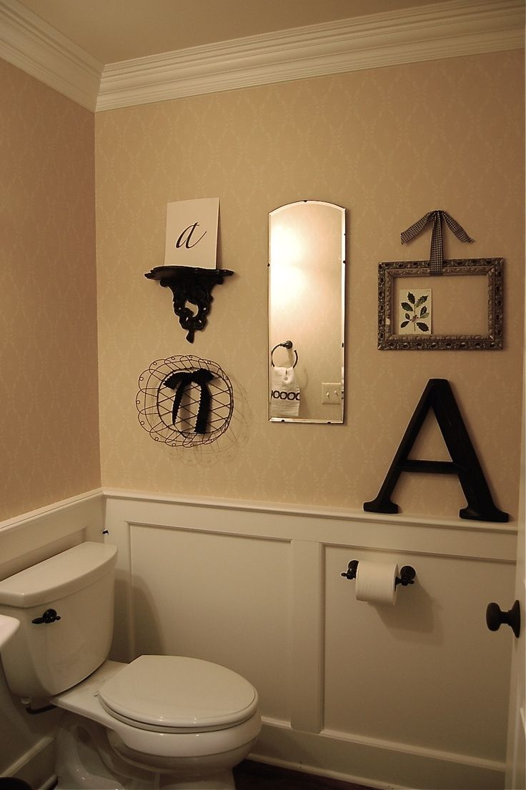 This With J Instead Of Au0027s May Be A Spare Bathroom. Or Half Bath Decor