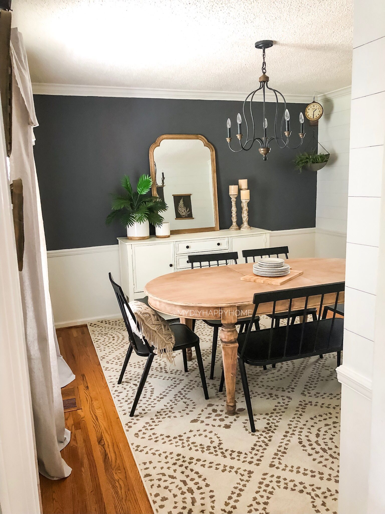 Dining room refresh on a budget | Dining room remodel ...
