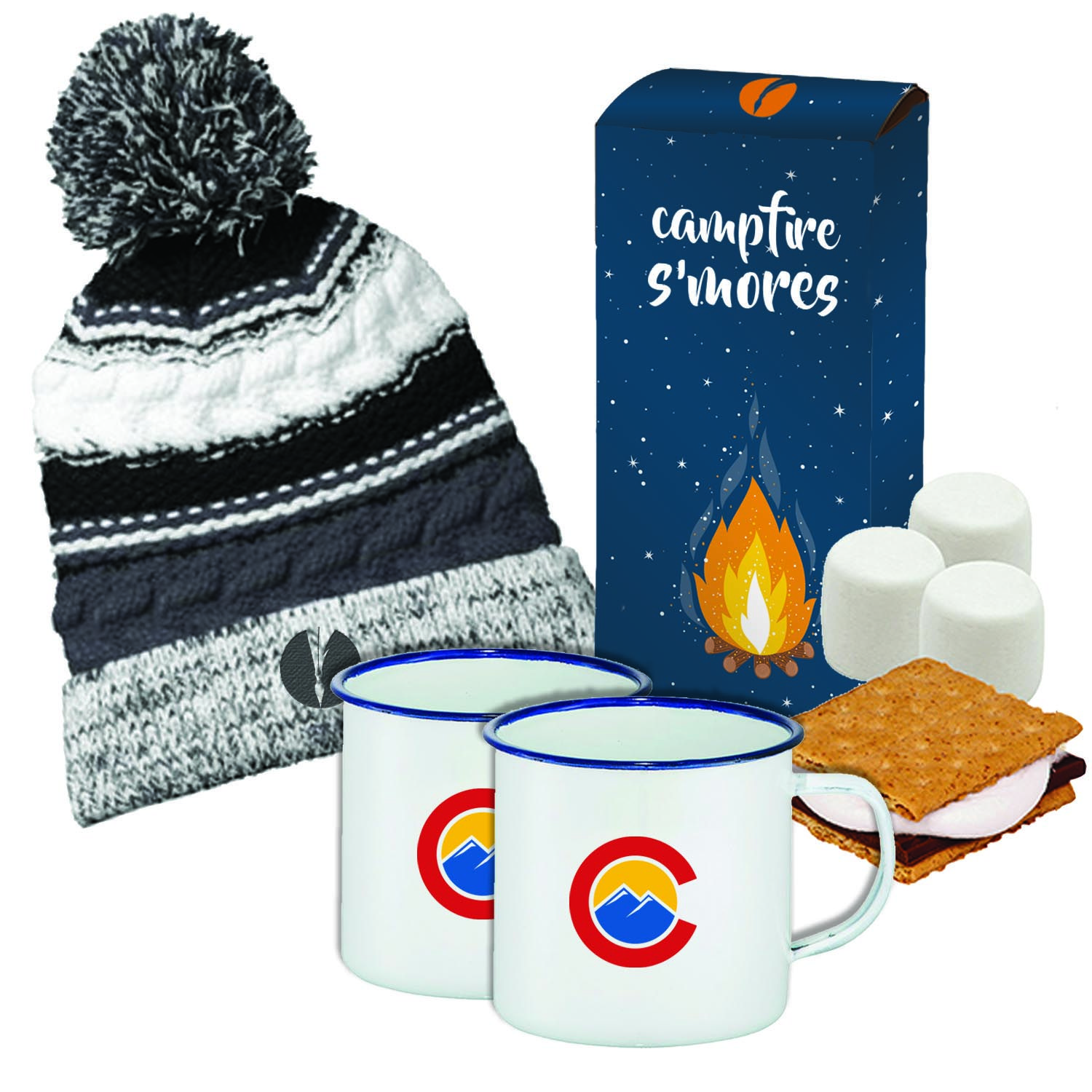 How adorable is this Campfire S'mores Kit? This bundle of items is perfect for cozying up by the fire. Check out the rest of our favorite things of 2016 on the blog.