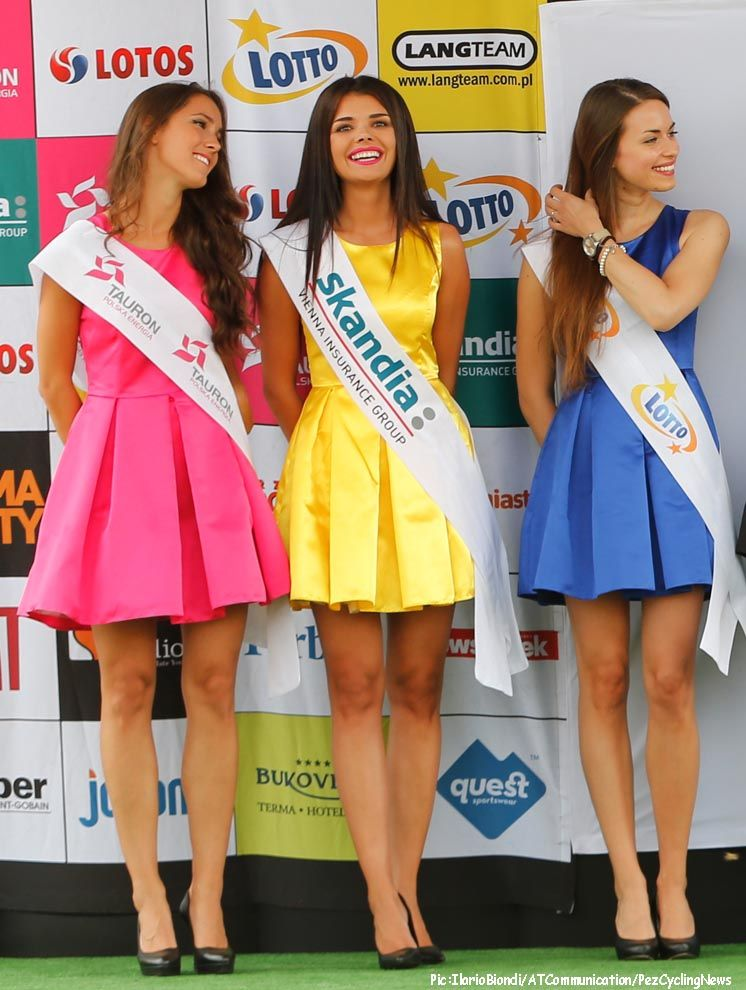 Tour De Pologne Podium Girls 2014 Podium Girl Cycling Tour De