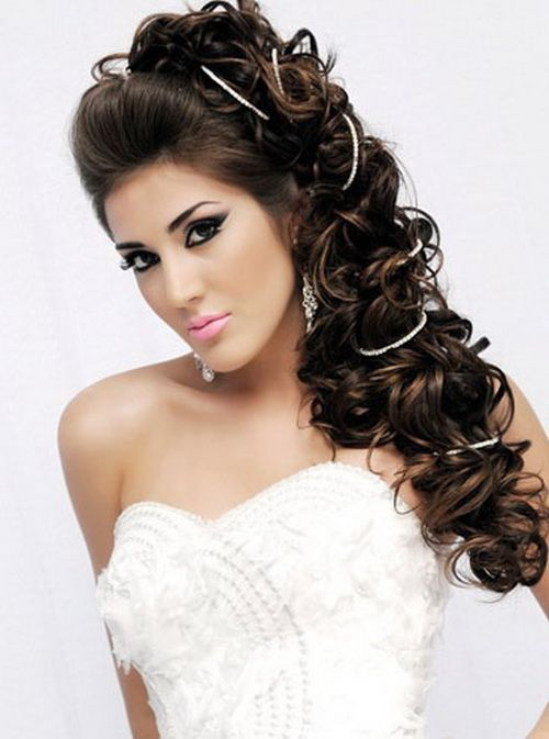 Top 12 Quinceanera Hairstyles to the Side | Poof hairstyles and ...