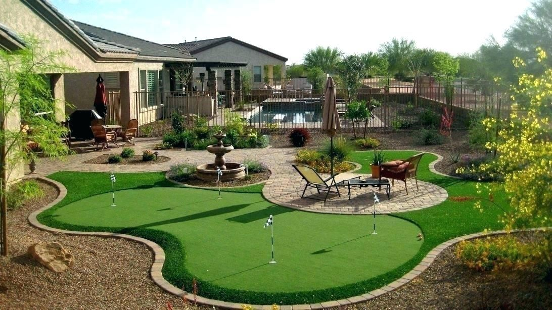 Landscaping Ideas Desert Backyard Landscape Design Skyline Clip