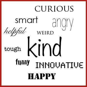 Words self describing Describing Words
