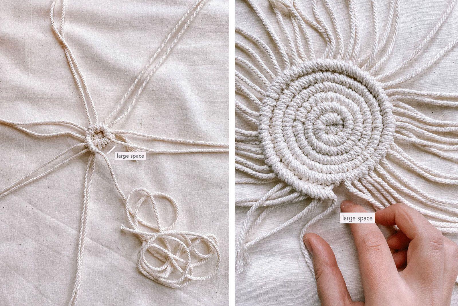 How to Make Macrame Coasters – No Sew!