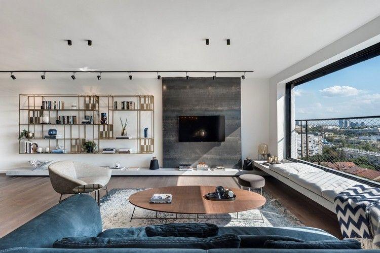 wohnzimmer ideen industrial chic style einrichtung beleuchtung - industrial chic wohnzimmer
