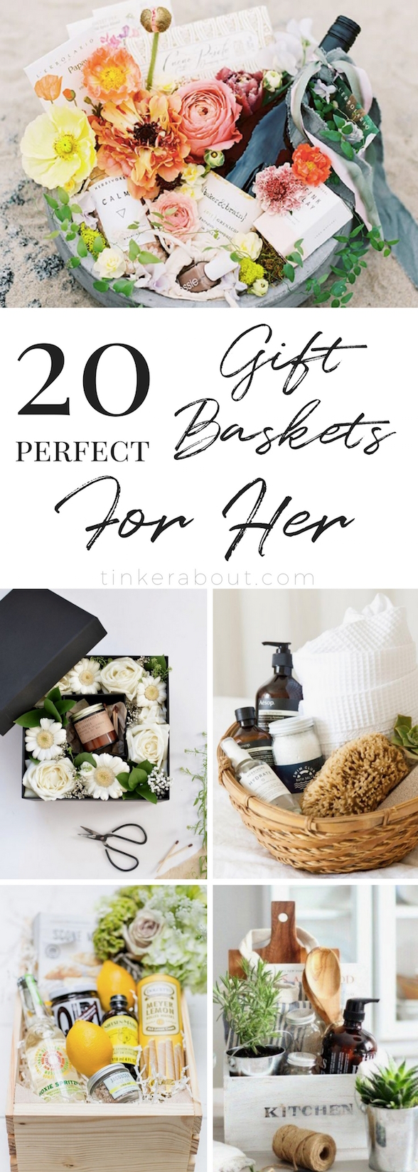 20 Gorgeous & Unique DIY Gift Basket Ideas for Women