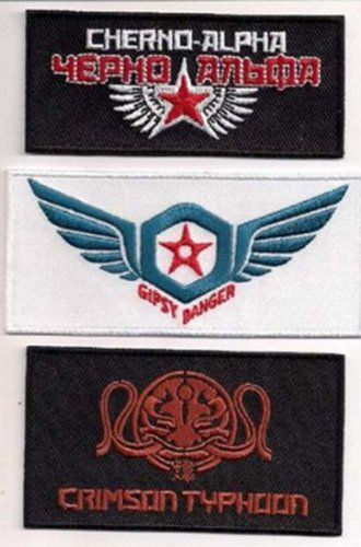 Pacific Rim Movie Logo Patch set of 3 Patches http://smile.amazon.com/dp/B00HI744XC/ref=cm_sw_r_pi_dp_B1iovb0ME91CY