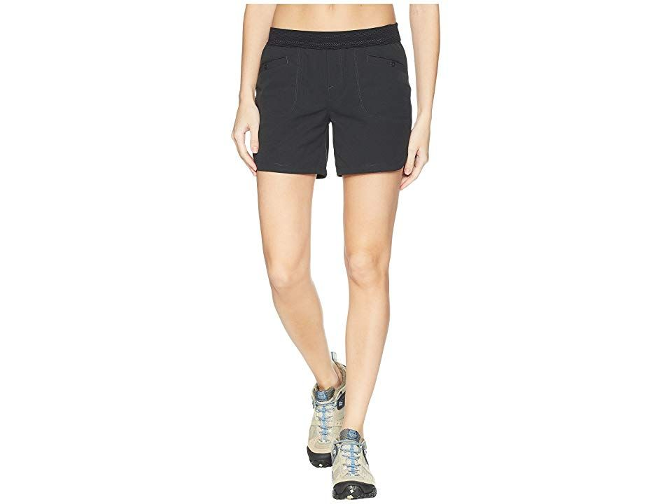 Mountain Hardwear Right Bank Scrambler Shorts Stealth Grey Womens Shorts Take on the challenge and dont be afraid to get aggressive so show them what youre made out of an...