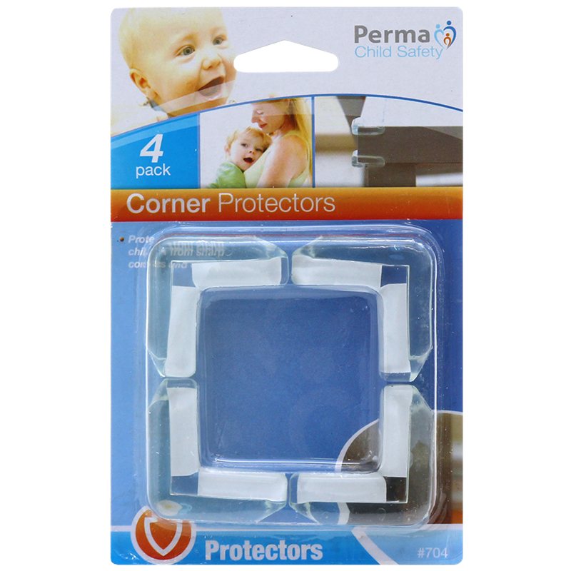 Perma Child Safety Corner Protectors - 4 Pack - $2.98 from Bunnings