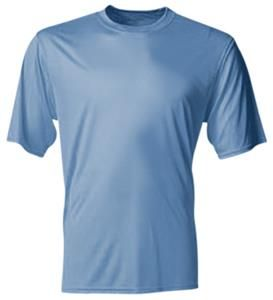 A4 Youth Cooling Performance Crew T Shirts T Shirt Shirts Mens