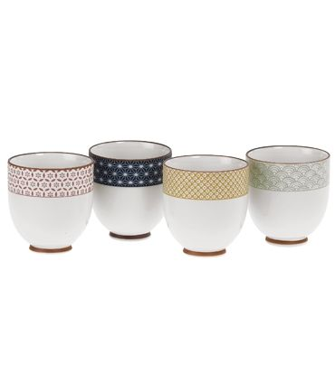 Sashiko Cups Set of Four