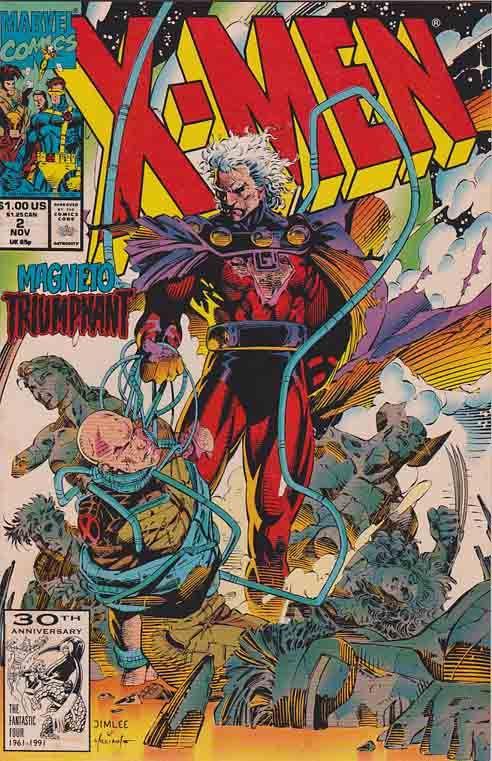 Xmen Vol 2 2 Magneto Triumphant Xmen Magneto Comicbooks Marvelcomics Comics Comic Covers Marvel Comics Covers