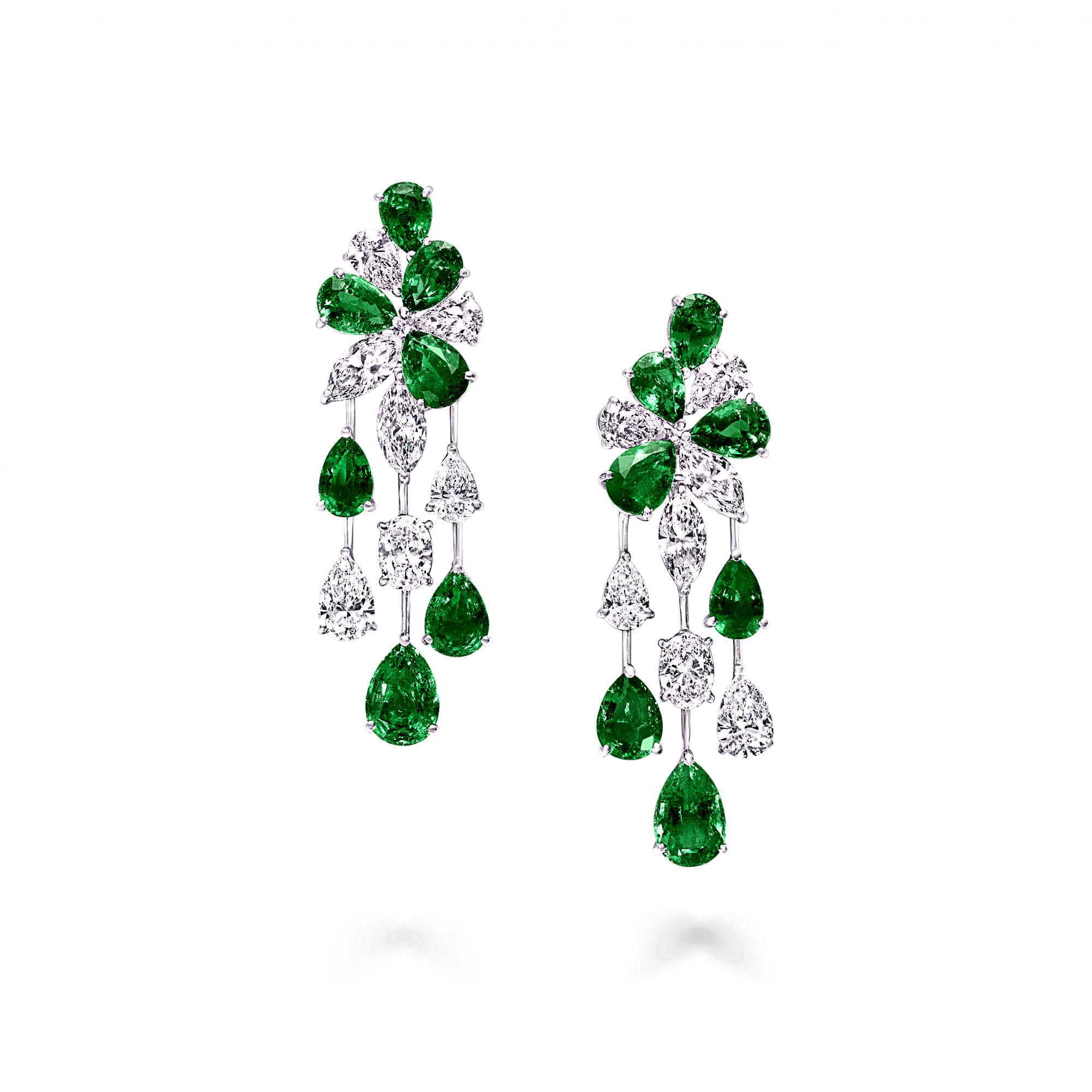 Discover Our Extraordinary Emerald And Diamond Earrings From The High Jewellery Collection At Graff Enter A World Of Unrivalled Rarity
