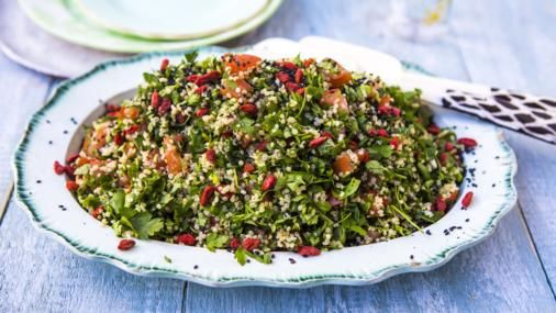 Quinoa goji tabbouleh recipe quinoa foods and recipes bbc food recipes quinoa goji tabbouleh forumfinder Image collections