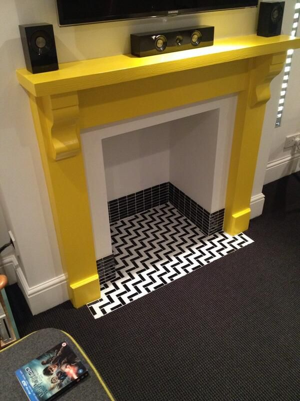 Make Way For Spring Mantels Sfgirlbybay Fireplace Tile Black Fireplace Minimalist Fireplace