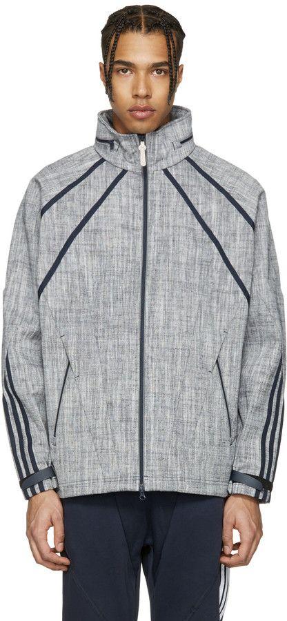 17f61503ed614 adidas Originals Navy NMD Chambreaker Track Jacket