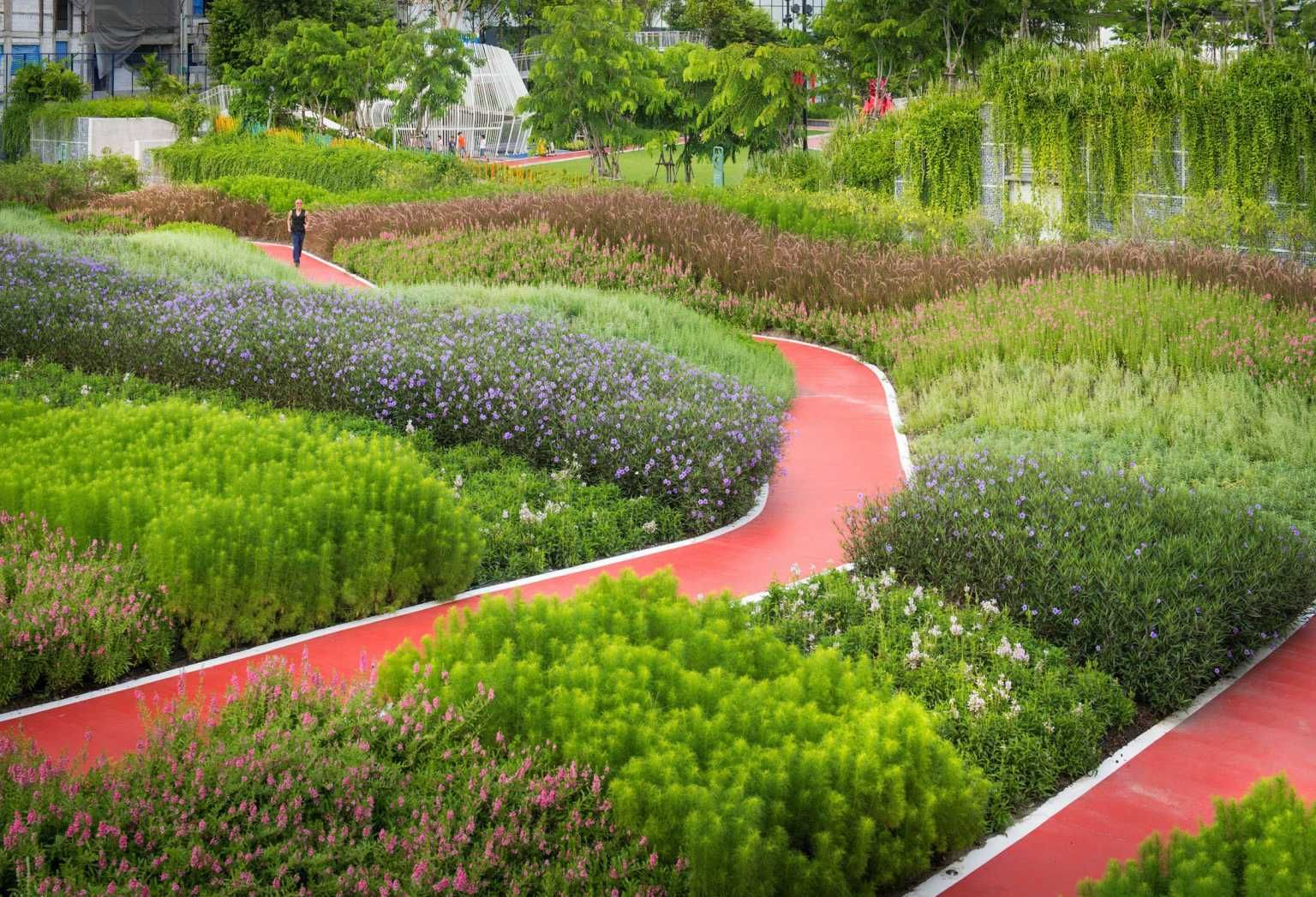 Mega Park By Landscape Collaboration Mooool Landscape Park Landscape Landscape Design